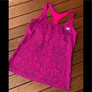 Reebok Hot Pink Light Wik Tank Top Size Large 💖
